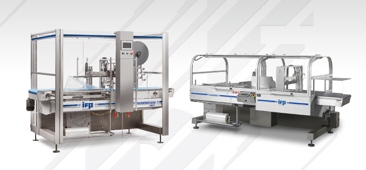 Wrapping machines - shrinkable film